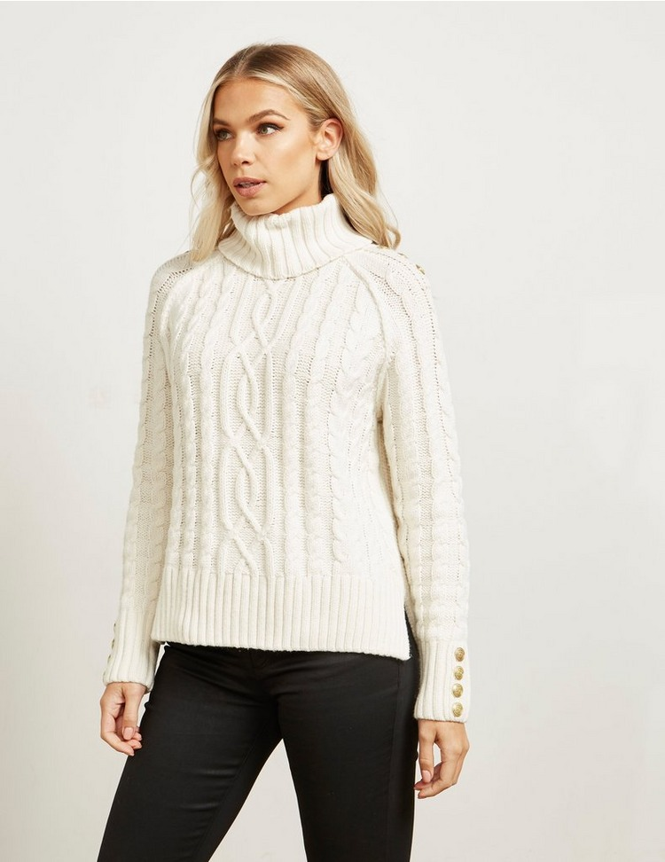 Holland Cooper Chunky Roll Neck Knit
