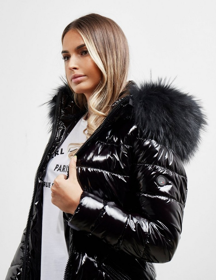 Froccella Satin Panel Gloss Jacket