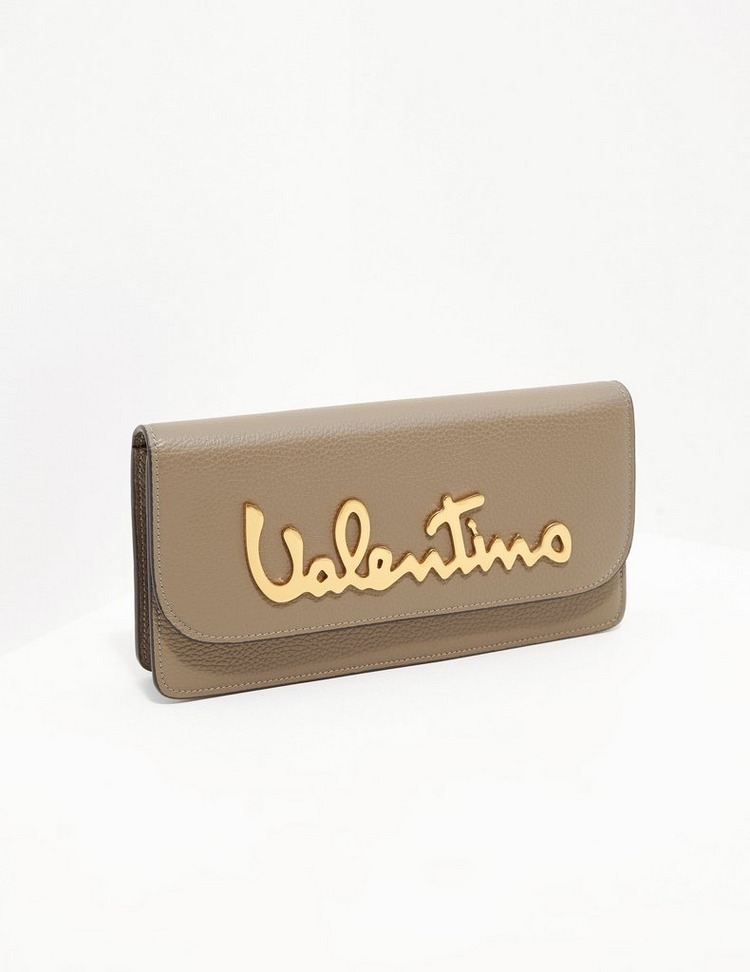 Valentino by Mario Valentino Leather Signature Shoulder Bag