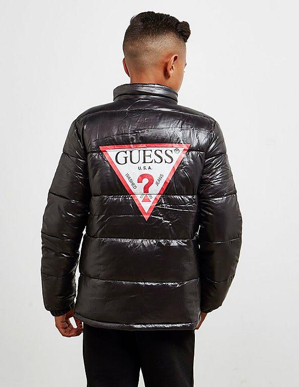Guess Logo Padded Jacket