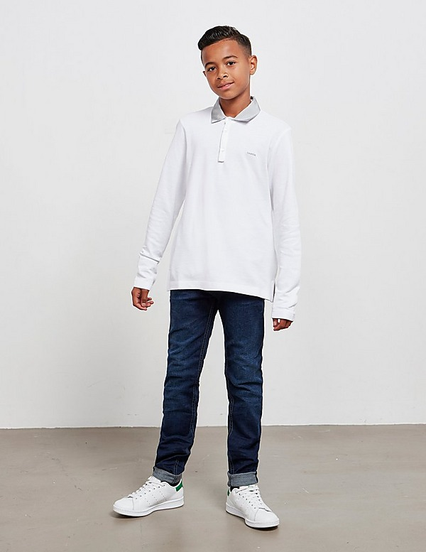Lanvin Long Sleeve Polo Shirt