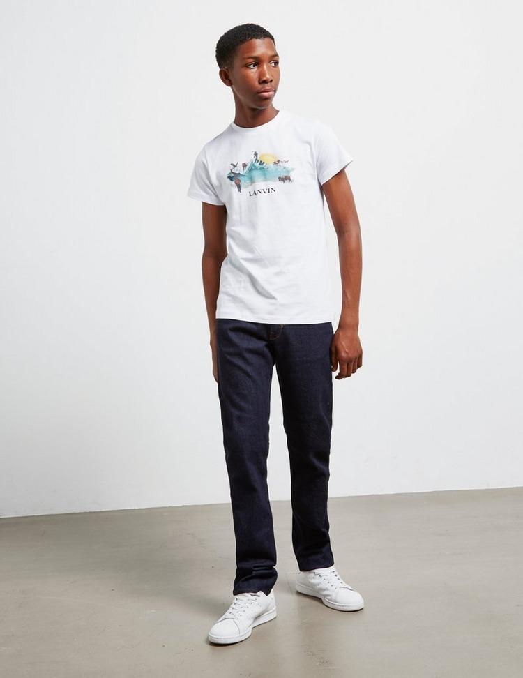 Lanvin Graphic Short Sleeve T-Shirt