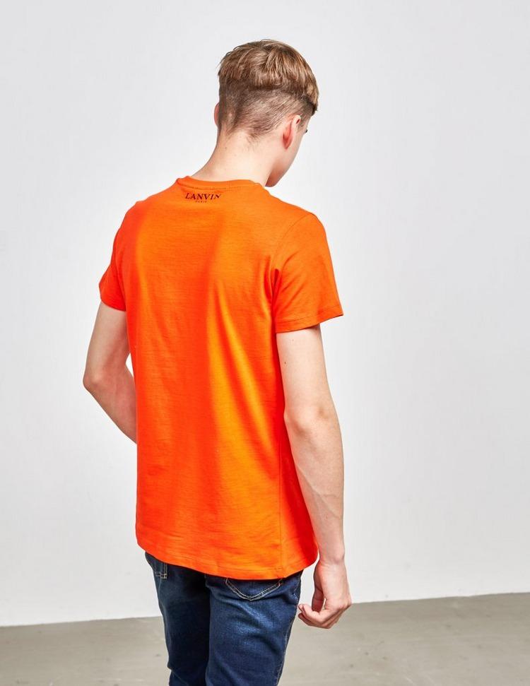 Lanvin Spider Print Short Sleeve T-Shirt
