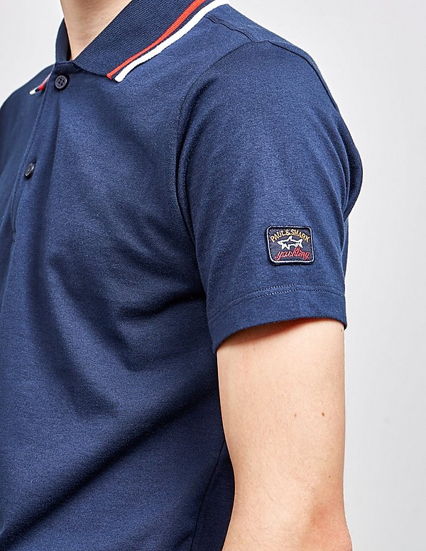 Paul and Shark Tipped Short Sleeve Polo Shirt