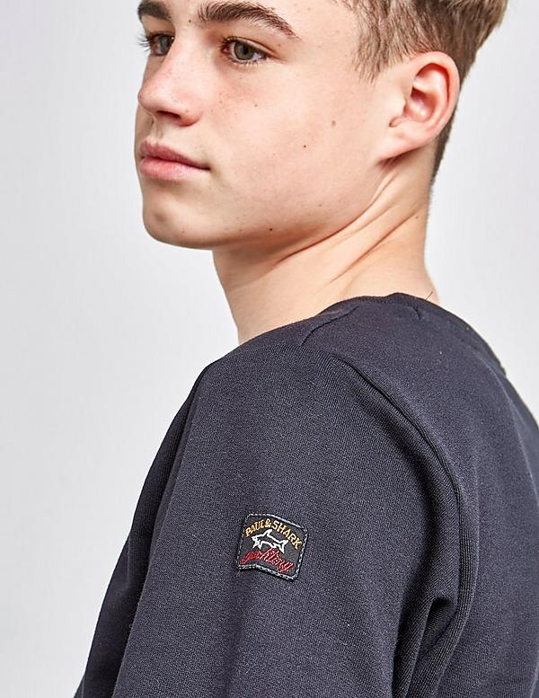 Paul and Shark Gold Text Sweatshirt