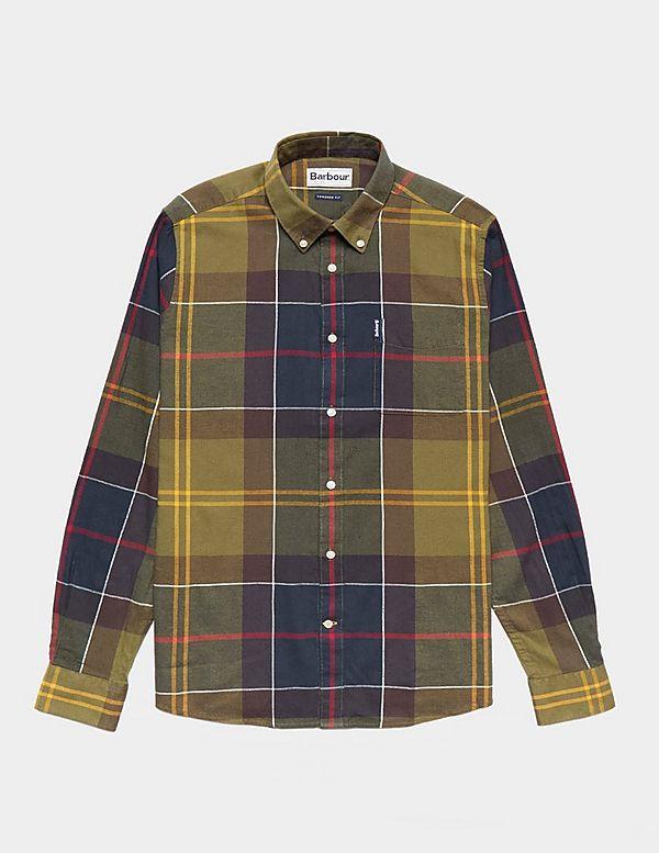 a0da57d8326d0 Barbour Tartan Long Sleeve Shirt | Tessuti