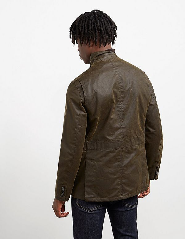 Barbour Lutz Waxed Jacket