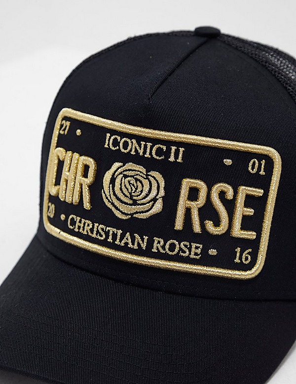 Christian Rose Icon Cap