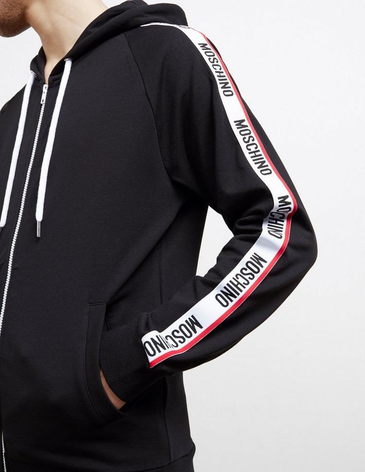 Moschino Tape Full Zip Hoodie