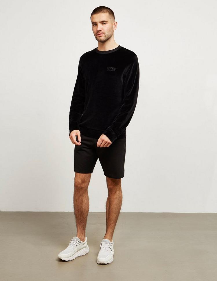 Moschino Velour Sweatshirt