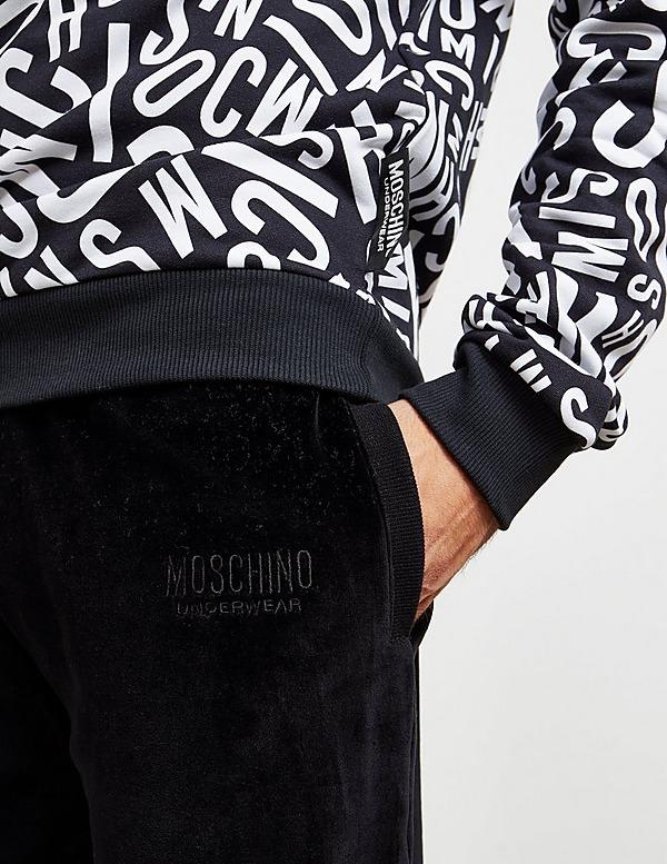 Moschino Velour Track Pants