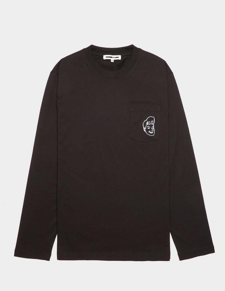 McQ Alexander McQueen Face Long Sleeve T-Shirt