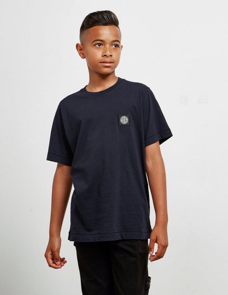Stone Island Junior Basic Patch Short Sleeve T-Shirt