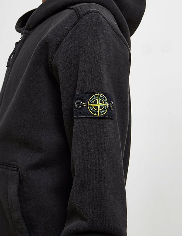 Stone Island Badge Full Zip Hoodie