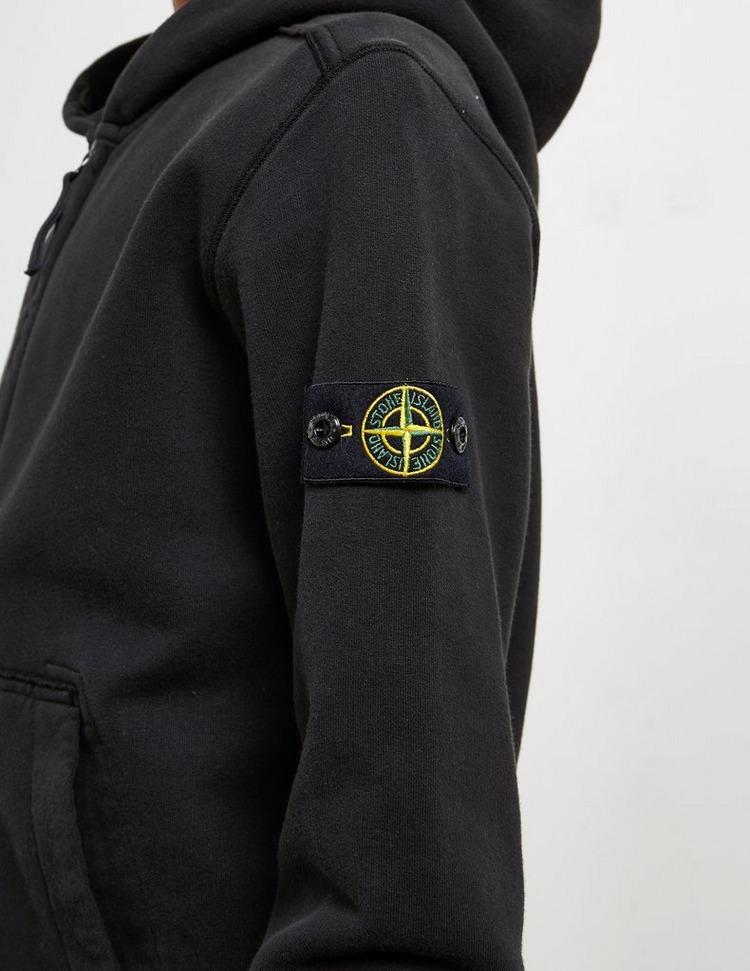 Stone Island Badge Full Zip Hoodie