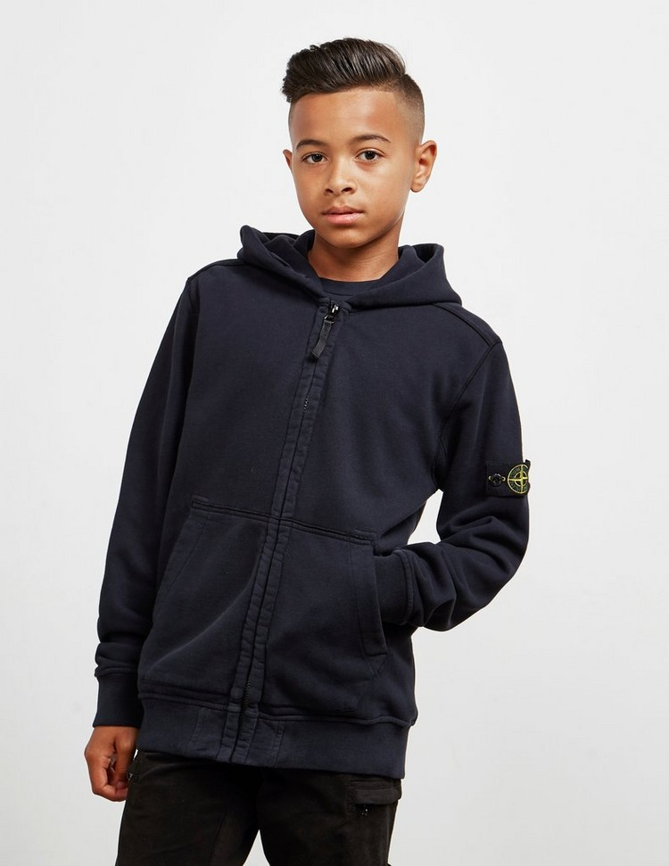 Stone Island Junior Badge Full Zip Hoodie