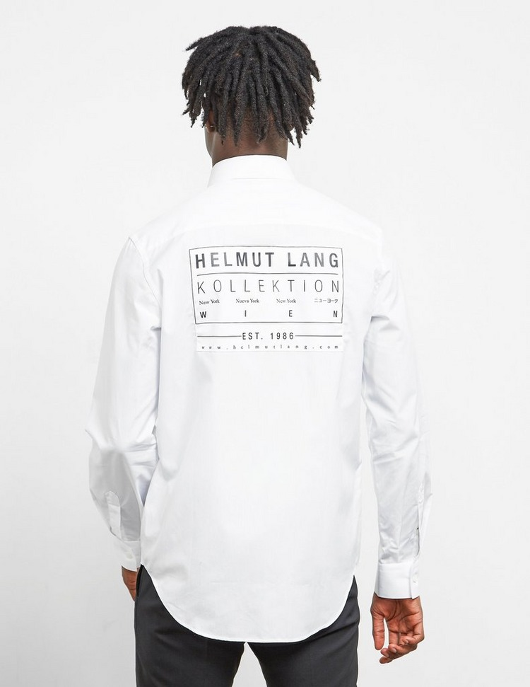 Helmut Lang Patch Long Sleeve Shirt