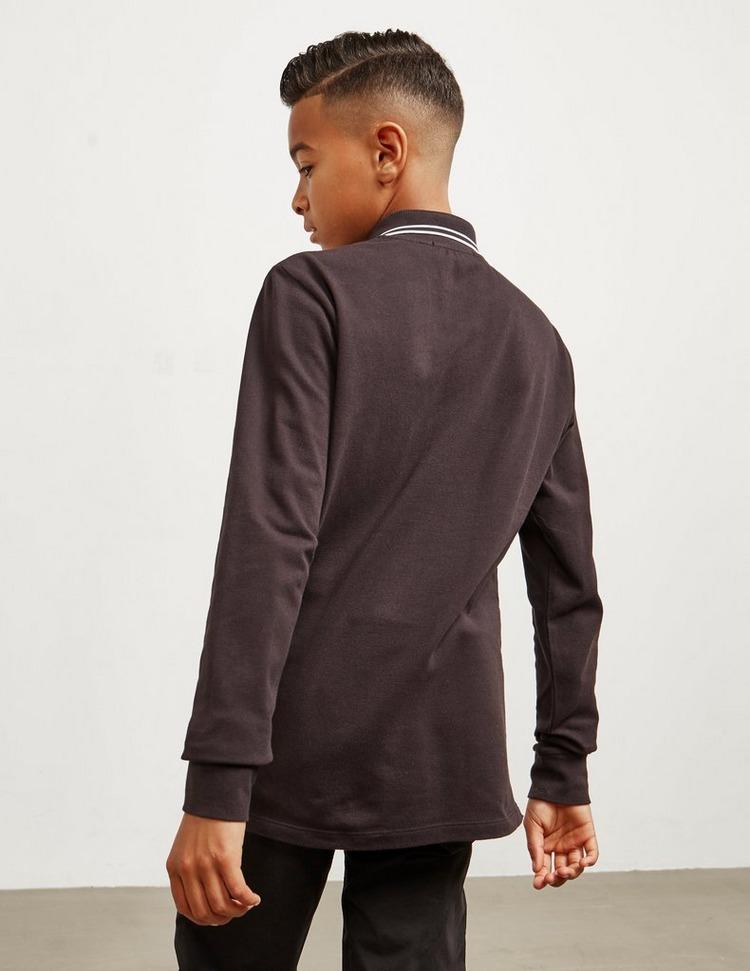 Stone Island Junior Tipped Long Sleeve Polo Shirt