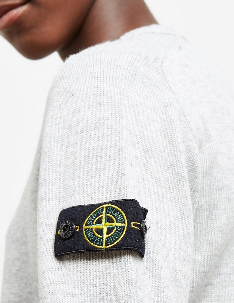 Stone Island Junior Crew Neck Knitted Jumper