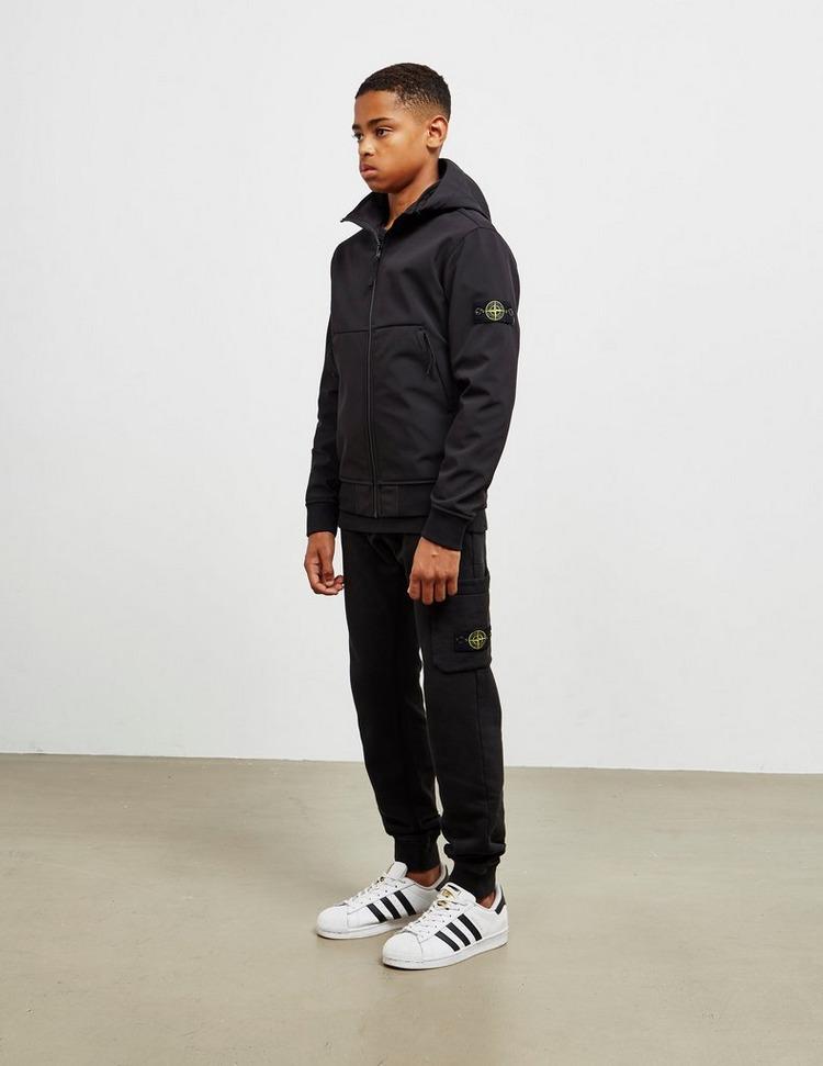 Stone Island Junior Hooded Softshell Jacket
