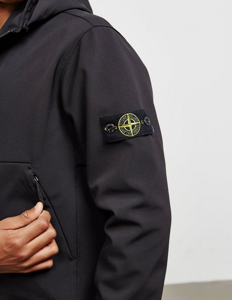 Stone Island Hooded Softshell Jacket