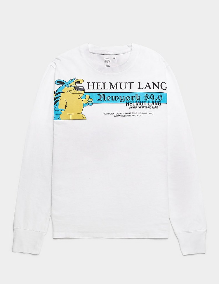 Helmut Lang Artist Long Sleeve T-Shirt