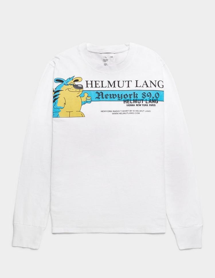 Helmut Lang Artist Long Sleeve T-Shirt