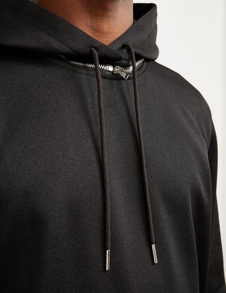 Helmut Lang Zip Detail Tech Hoodie