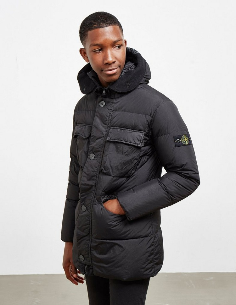 Stone Island Junior Padded Parka Jacket