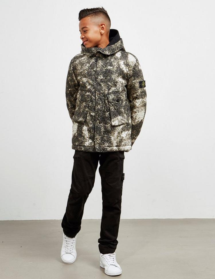 Stone Island Junior Pixel Camouflage Jacket