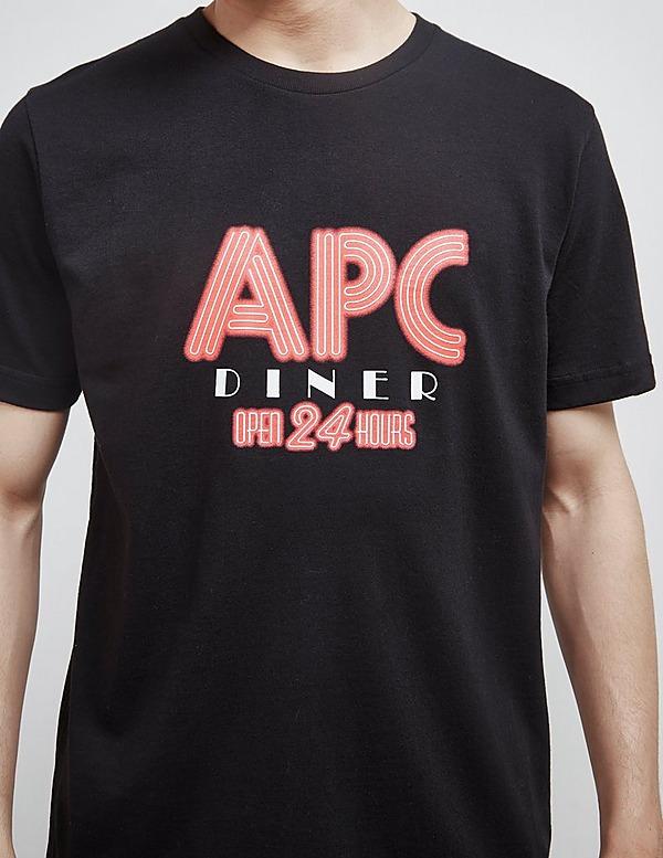 A.P.C Diner Short Sleeve T-Shirt