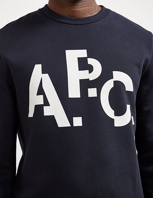 A.P.C Cut Logo Sweatshirt
