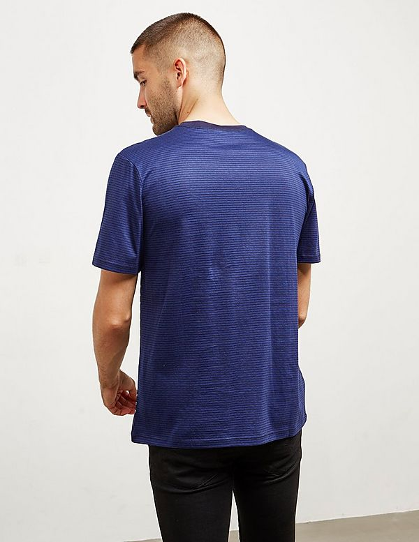 A.P.C Cut & Sew Stripe Short Sleeve T-Shirt