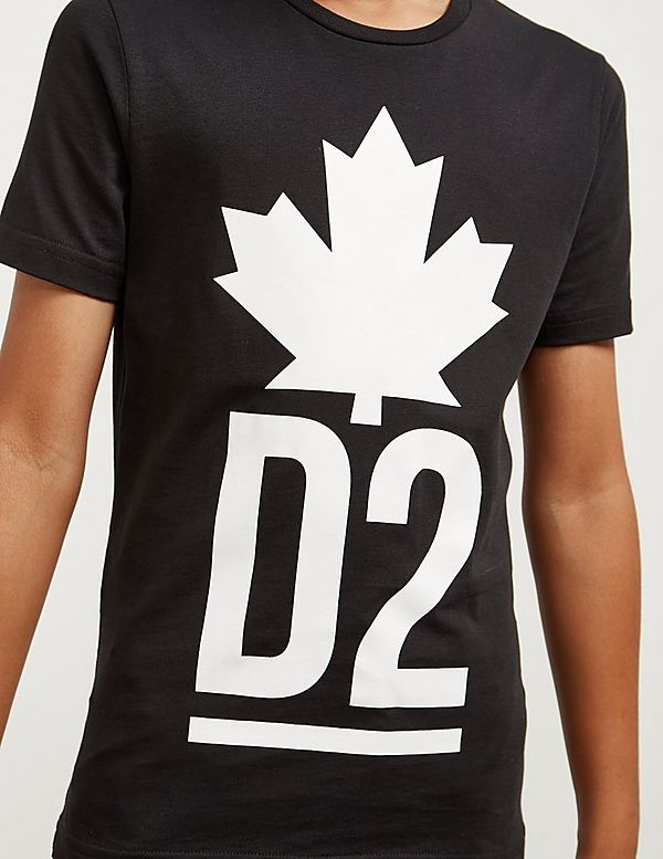 Dsquared2 Mapel Logo Short Sleeve T-Shirt