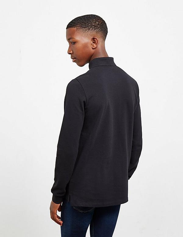 Moschino Boy's Long Sleeve Polo Shirt