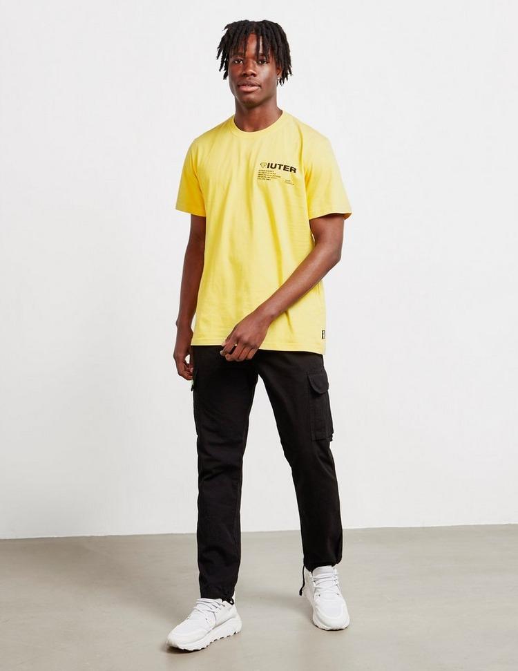 IUTER Barcode Short Sleeve T-Shirt