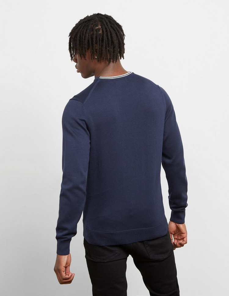 Fred Perry Crew Knitted Jumper