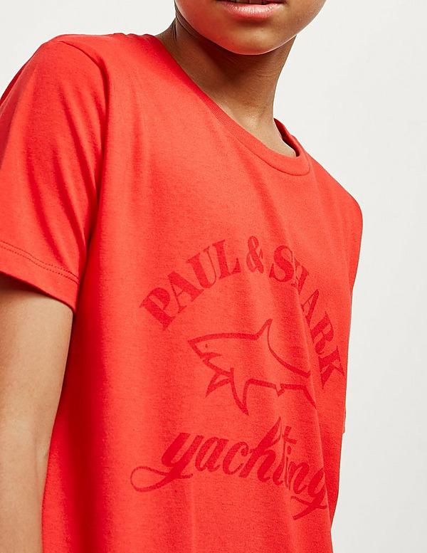 Paul and Shark Tonal Shark Short Sleeve T-Shirt