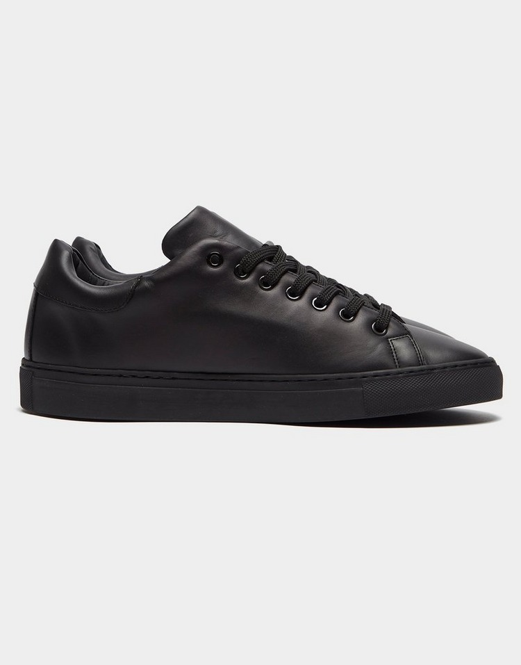 Moschino Leather Logo Trainers