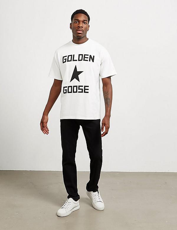 Golden Goose Deluxe Brand Large Logo Short Sleeve T-Shirt