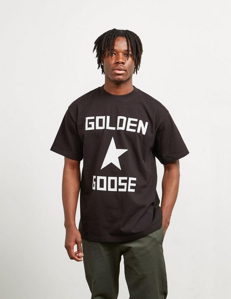 Golden Goose Deluxe Brand Large Logo Short Sleeve T-Shirt
