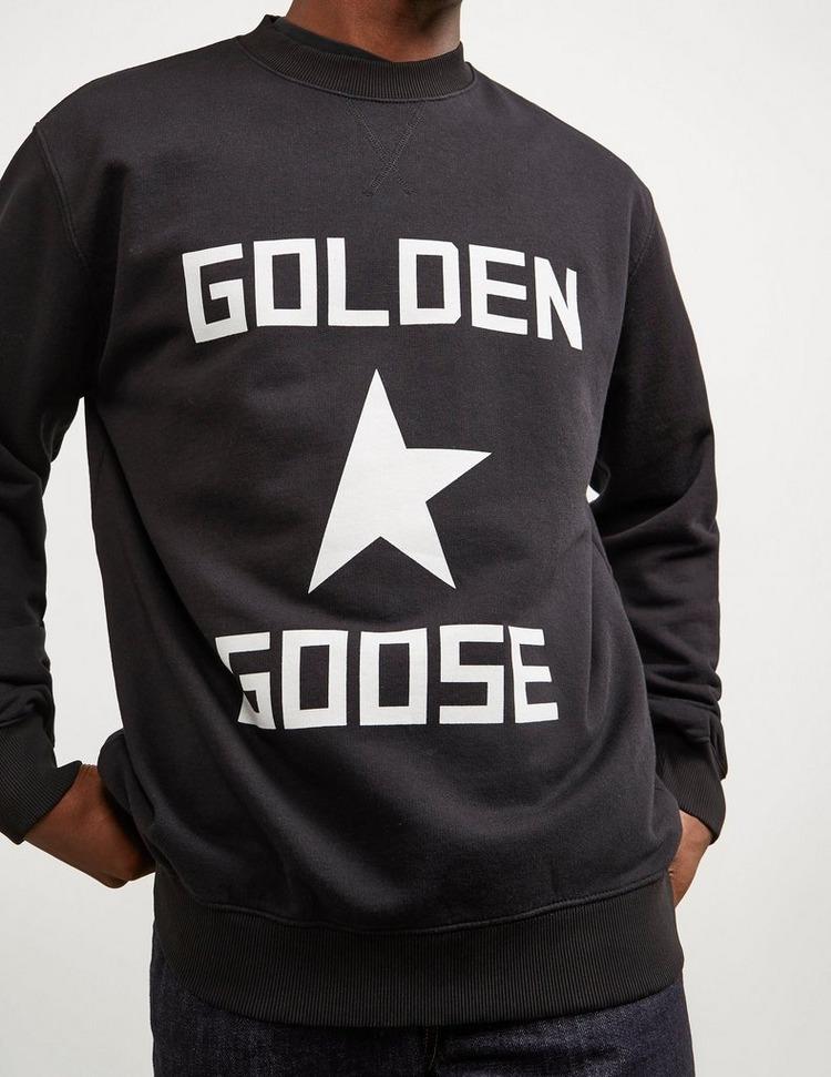 Golden Goose Deluxe Brand Large Logo Sweatshirt