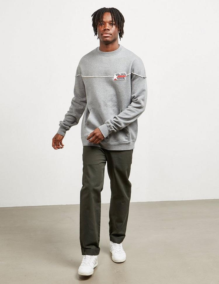 Golden Goose Deluxe Brand Logo Pocket Sweatshirt
