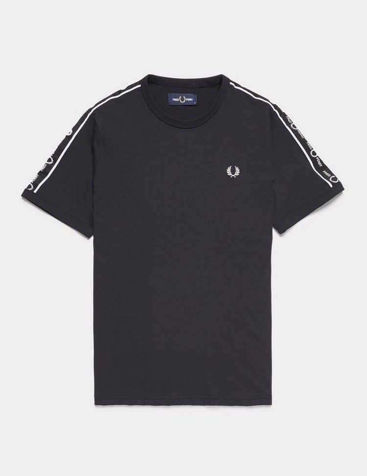 Fred Perry Tape Shoulder Short Sleeve T-Shirt