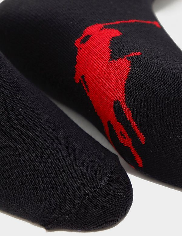 Polo Ralph Lauren 3-Pack Big Pony Trainer Socks