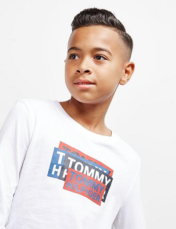 Tommy Hilfiger Sticker Long Sleeve T-Shirt