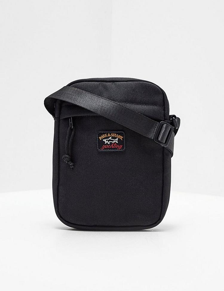 Paul and Shark Patch Logo Small Item Bag