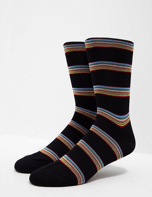 PS Paul Smith Block Stripe Socks