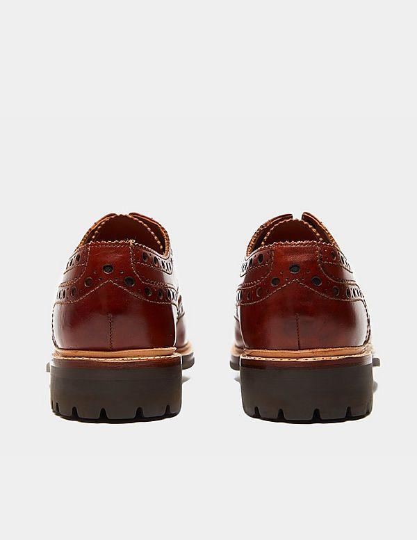 Grenson Archie Tan Shoes