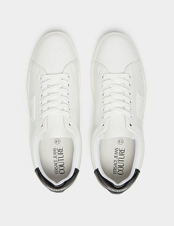 Versace Jeans Couture Plate Logo Trainers